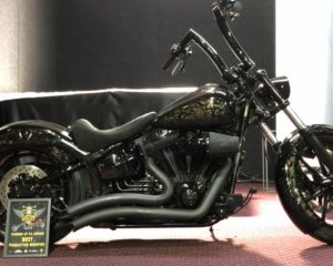 Custom built Harleys
